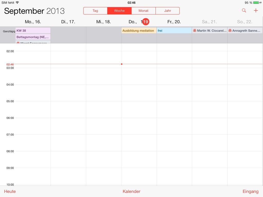 kalender woche