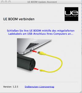 UE Boom updaten