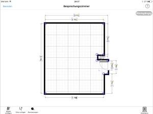 Grundriss-iPad-MagicPlan